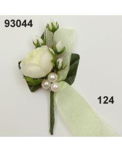 Rose mittel Anstecker / champagner / 93044.124