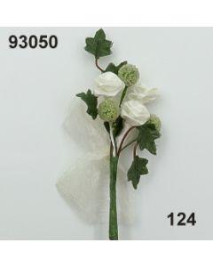 Efeu-Diorrosen Anstecker / champagner / 93050.124
