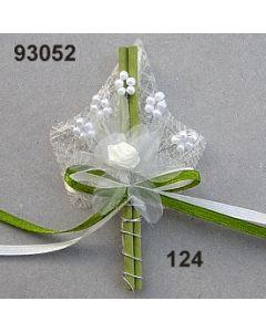 Perlen-Blüte Anstecker / champagner / 93052.124