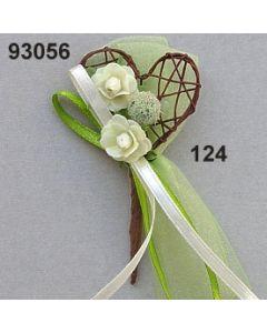Nest-Herz Anstecker / champagner / 93056.124