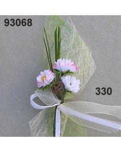 Gänseblümchen Anstecker / cerise / 93068.330