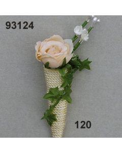 Cordell Tüte mit Rosen Anstecker / beige / 93124.120