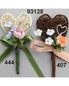 Mandelknospe Sisal Anstecker  / 93128