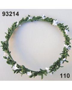 Myrten-Sternblüten Kranz / grün-weiß / 93214.110