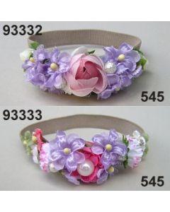 Rosen-Flieder Armgummi / lila-rosa / 93333.545
