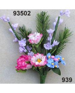 Gänseblümchen-Lavendel Anstecker / bunt / 93502.939