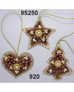 Gewürznelken Glimmer Set klein / gold / 95250.920
