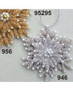 Bouillon-Perle Schneeflocke  / 95295