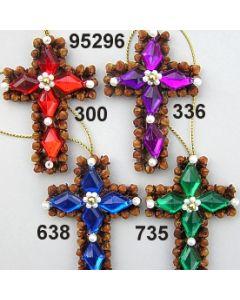 Gewürznelken Farbstein Kreuz / 95296