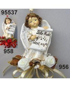 Engel Stille Nacht dekoriert / 95537