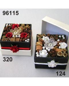 Florabox Samtrose klein  / 96115