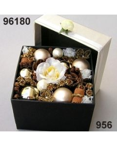Florabox Weihnacht groß / gold-creme / 96180.956