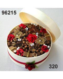 FloraSpanbox Samtrose mittel / weinrot / 96215.320