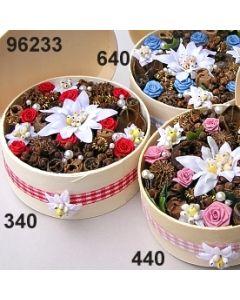 FloraSpanbox Edelweiß mittel  / 96233